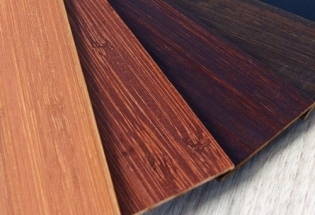 Persiana Horizontal Madeira Bamboo 50mm